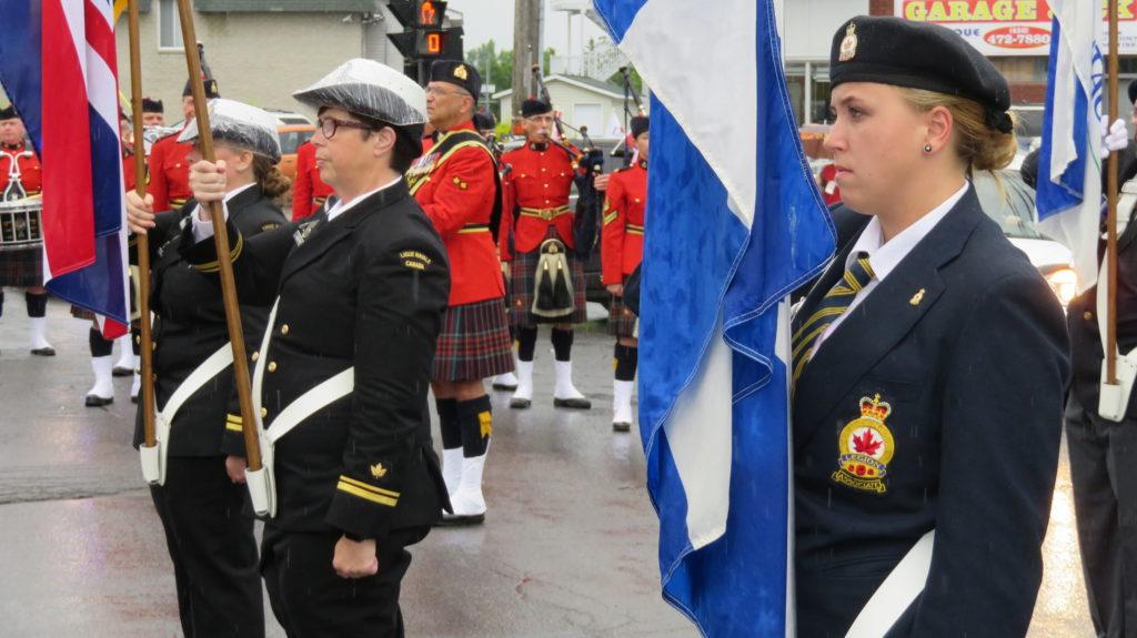Fête du Canada Day - défilé 2017 (La Légion). Paul Goyetche, photographe © 2017.
