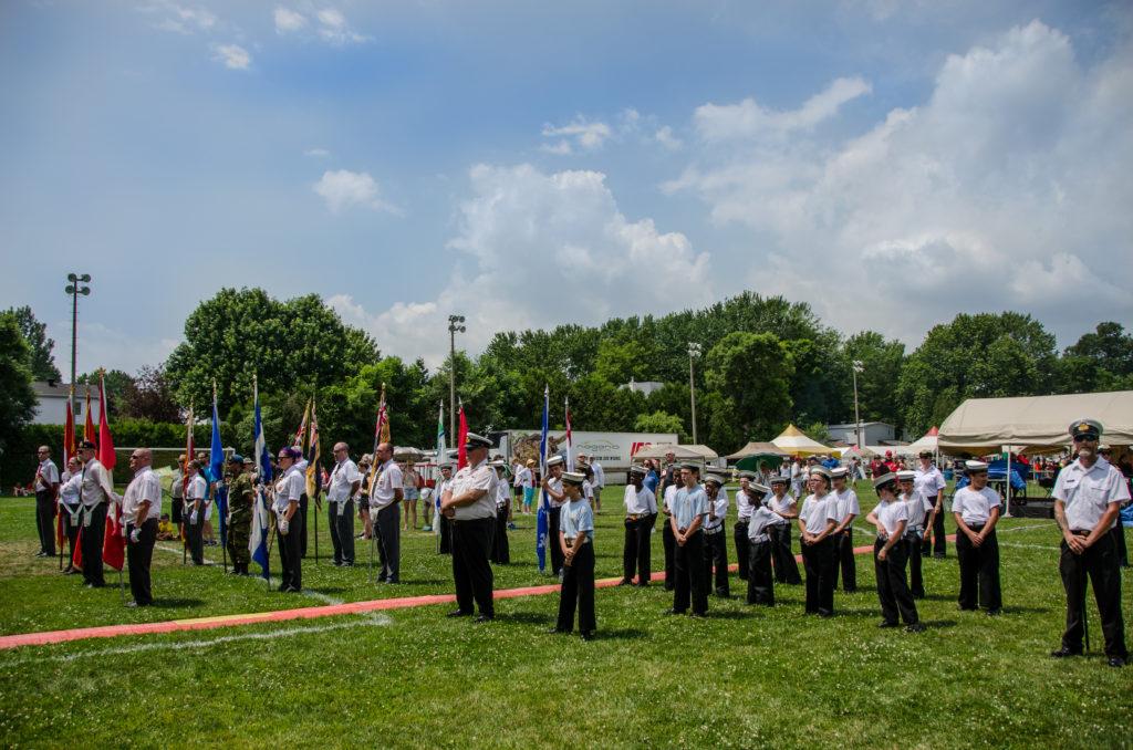 Honour Guard - Parc Central