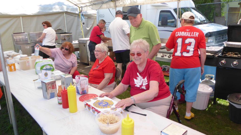 Food tent - Lions Club