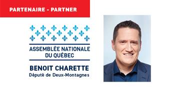 Partenaire - Partner 2021, Benoit Charette