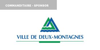 Commanditaire - Sponsor 2021, Ville de Deux-Montagnes